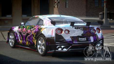 Nissan GT-R GS-S S8 para GTA 4