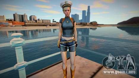 Sherry Birkin skin para GTA San Andreas