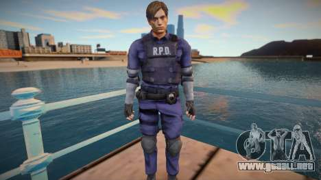 Leon Kennedy From RE2:Remake para GTA San Andreas