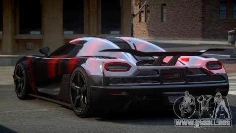 Koenigsegg Agera US S6 para GTA 4