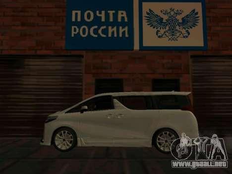 Toyota Alphard Hybrid Executive Louge para GTA San Andreas