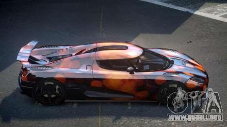 Koenigsegg Agera US S8 para GTA 4