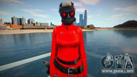 Bertha Red Resident Evil Operation Raccoon City para GTA San Andreas