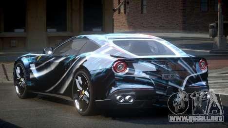Ferrari F12 BS Berlinetta S8 para GTA 4