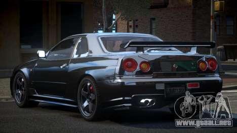 Nissan Skyline R34 PSI-U para GTA 4