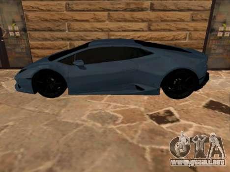 Lamborghini Huracan RUS Plates para GTA San Andreas