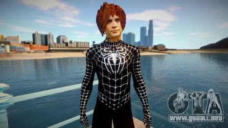 Spiderman 2007 (Black-Unmask) para GTA San Andreas