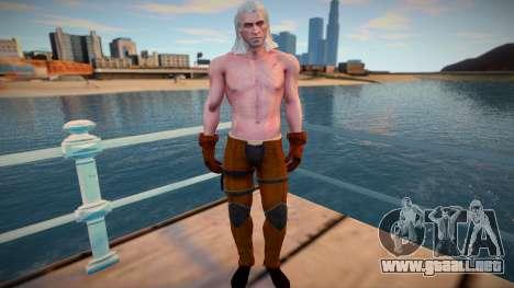 Geralt para GTA San Andreas