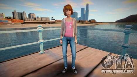 Max - Life Is Strange para GTA San Andreas