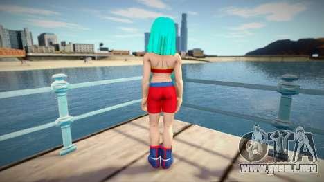 Female Character from Dragon Ball Xenoverse para GTA San Andreas