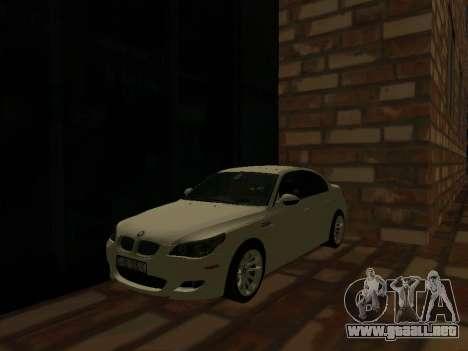 BMW M5 E60 52RUS para GTA San Andreas