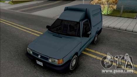 Fiat Fiorino Van [VehFuncs] para GTA San Andreas