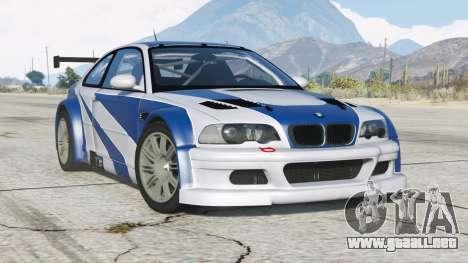 BMW M3 GTR (E46) Más buscado 〡add-on v2.0