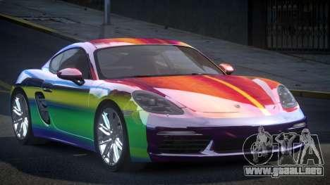 Porsche 718 U-Style S9 para GTA 4