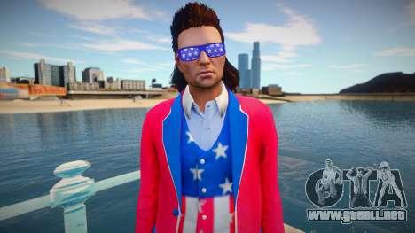 Man clothing style of the United States from GTA para GTA San Andreas