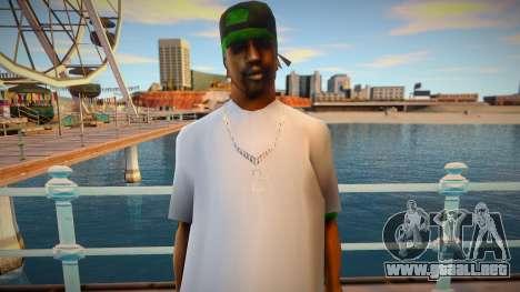 New Fam 2 skin para GTA San Andreas