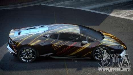 Lamborghini Huracan GST S10 para GTA 4