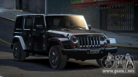 Jeep Wrangler PSI-U S6 para GTA 4