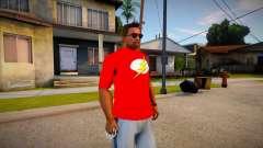 New T-Shirt - tshirtbobomonk para GTA San Andreas