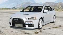 Mitsubishi Lancer Evolution X 2015〡add-on para GTA 5