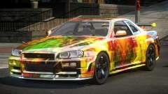 Nissan Skyline R34 PSI-U S9 para GTA 4