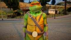Ninja Turtles - Michaelangelo para GTA San Andreas