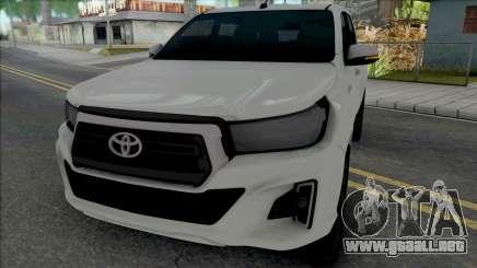 Toyota Hilux 2019 para GTA San Andreas