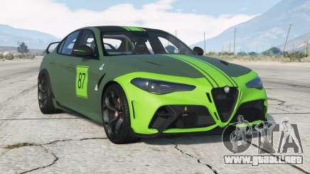Alfa Romeo Giulia GTAm (952) 2020〡add-on v3.0 para GTA 5
