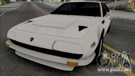 Lamborghini Jarama 1970 [IVF VehFuncs ADB] para GTA San Andreas