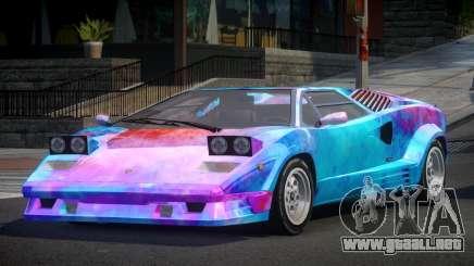 Lamborghini Countach GST-S S4 para GTA 4