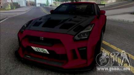 Nissan GT-R R35 Kream Edition v.2 para GTA San Andreas
