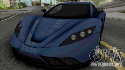 Kepler Motion 2011 para GTA San Andreas