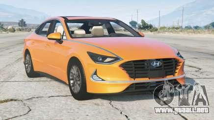 Hyundai Sonata (DN8) 2019 v2.0 para GTA 5