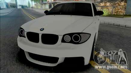 BMW 1-er E87 M Sport 2009 para GTA San Andreas