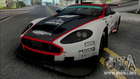 Aston Martin DBRS9 (NFS Shift 2) para GTA San Andreas