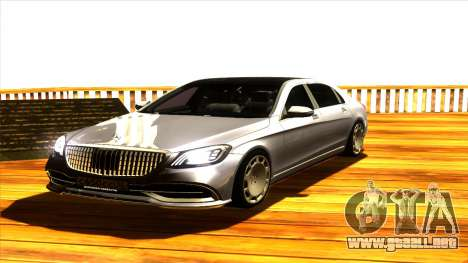 Mercedes Maybach s65 para GTA San Andreas