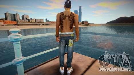 Cesar (good skin) para GTA San Andreas