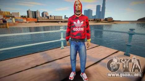 6ix9ine para GTA San Andreas