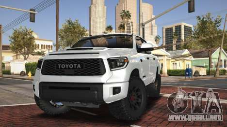Toyota Tundra TRD PRO 2021 - Fin del Camino para GTA San Andreas