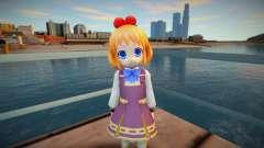 Megatagmesion Neptunia v3 (good skin) para GTA San Andreas