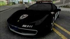 Ferrari 458 Italia Police