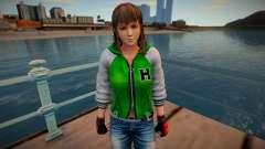 Dead Or Alive 5 - Hitomi (Costume 2) v6 para GTA San Andreas