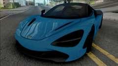 McLaren 720S Spider 2019 para GTA San Andreas