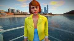 Girl 4 from GTA Online para GTA San Andreas