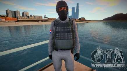 Policia Dominicano V2 para GTA San Andreas