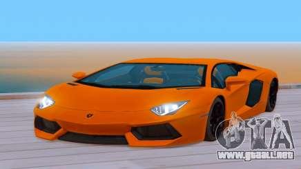 Lamborghini Aventador (Cheetah) para GTA San Andreas