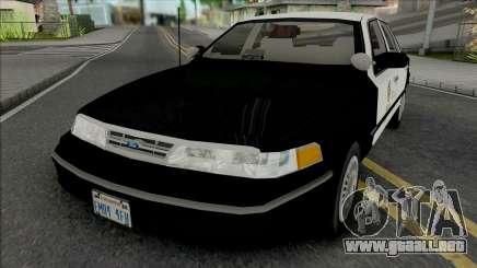 Ford Crown Victoria 1997 CVPI LAPD GND para GTA San Andreas