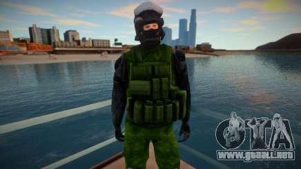 Improved Swat skin para GTA San Andreas