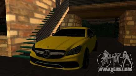 Mercedes-Benz CLS63 AMG White para GTA San Andreas