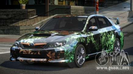 Subaru Impreza GST-R S4 para GTA 4